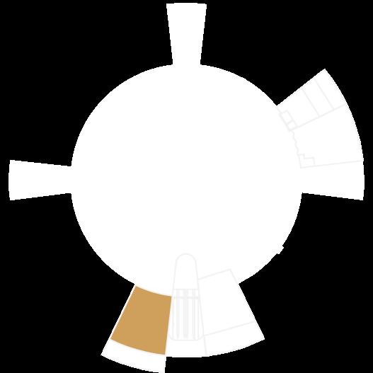 La Cúpula mapa del vestibulo