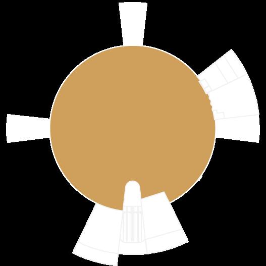 La Cúpula mapa de la zona polivalente