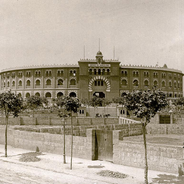 Las Arenas en 1900